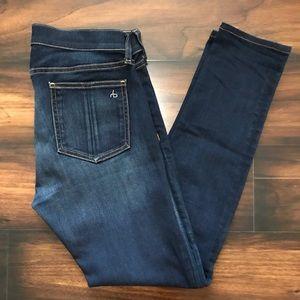 Rag & Bone Bedford Skinny Jeans Size 29